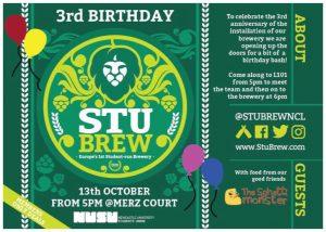 Stu Brew 3rd Birthday Bash
