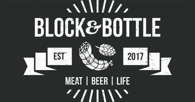 Block and Bottle logo