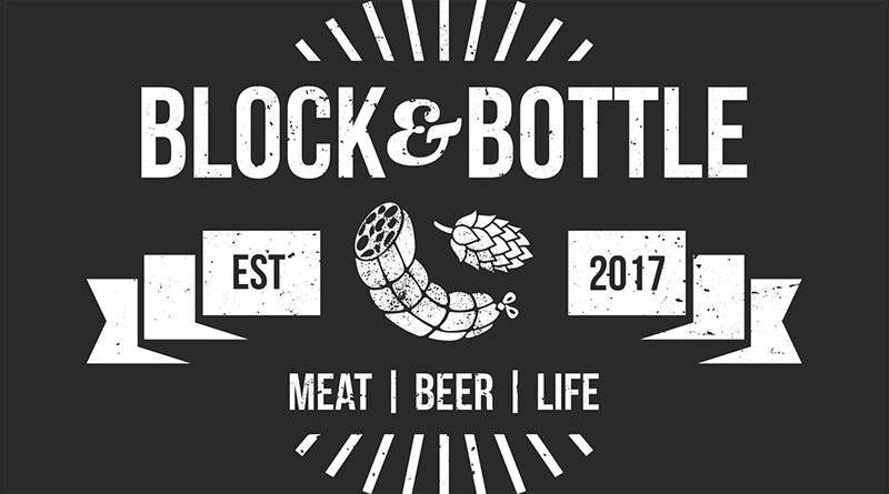 Block and Bottle logo