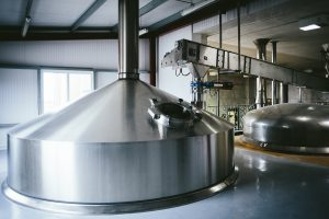 Inside the brewery at Camerons, where Stottie will be brewed